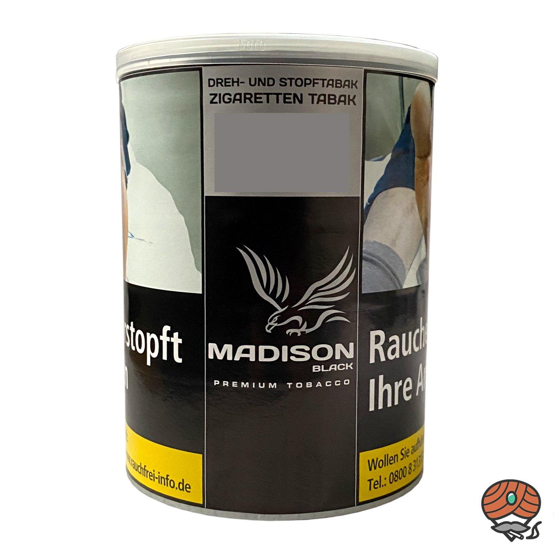 MADISON Black Premium Tobacco Zware Drehtabak / Stopftabak 120 g Dose