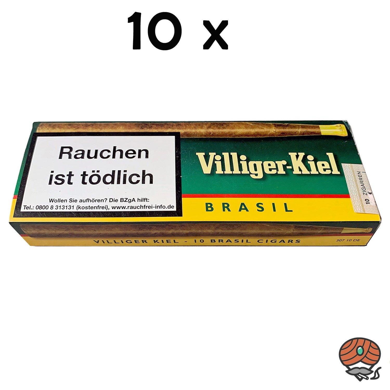 10 Schachteln Villiger Kiel Brasil Inhalt 10 Stück