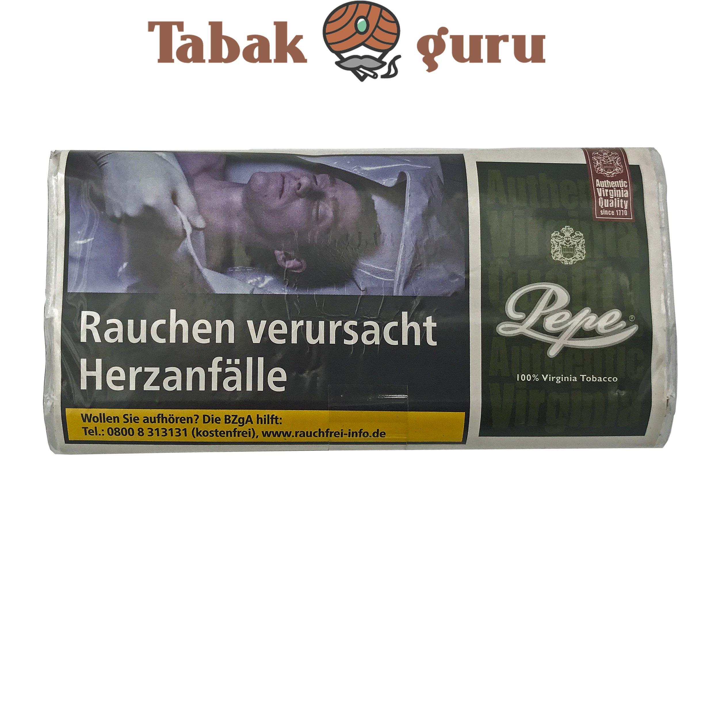 Pepe Dark Green 30g Drehtabak Zigarettentabak