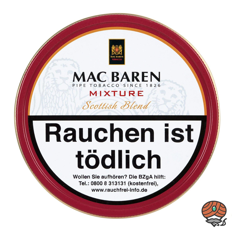 Mac Baren Mixture Scottish Blend Pfeifentabak 100 g Dose