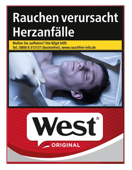 West Red Zigaretten 25 Stück
