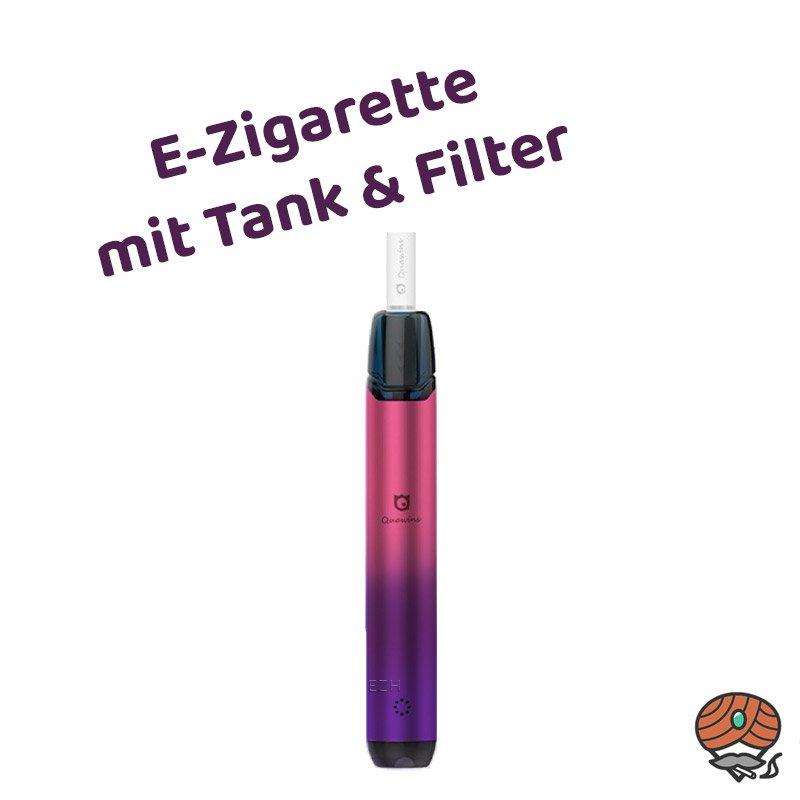 Quawins Vstick Pro Kit E-Zigarette mit Filter in Lila Verlauf (sunset purple)