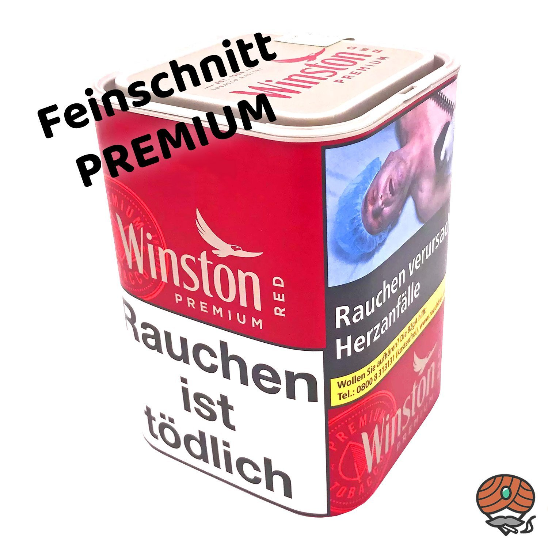 Winston Premium Red Zigarettentabak 100g Dose