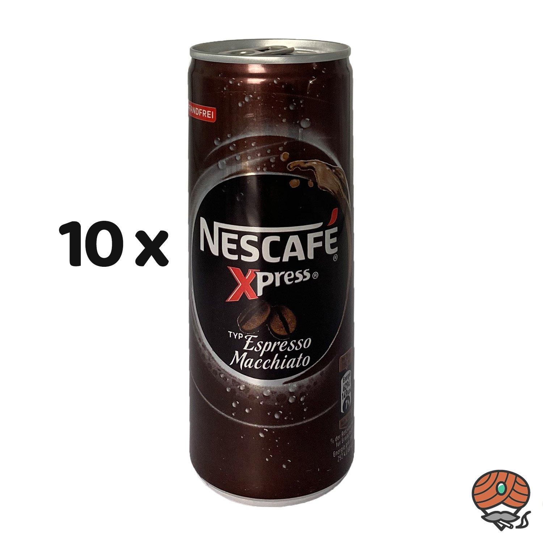 10 x Nescafé Xpress Typ Espresso Macchiato, 250 ml Dose