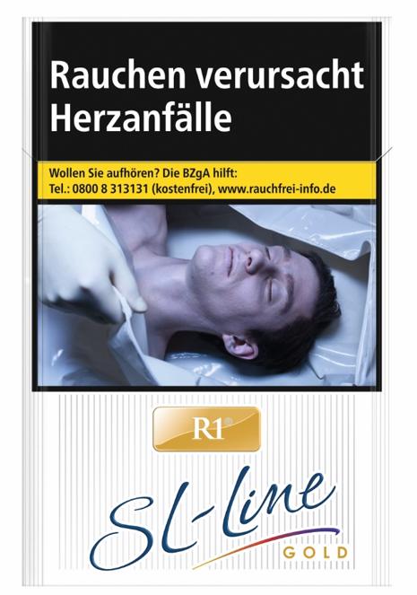 R1 SL-Line Gold by Davidoff Zigaretten 20 Stück