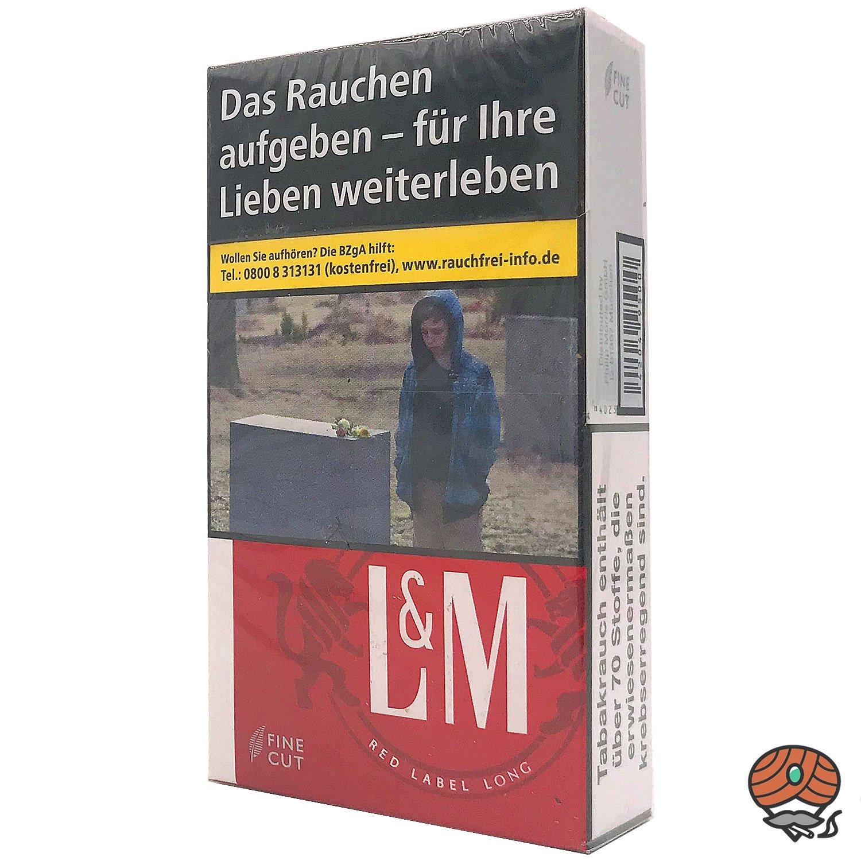 L&M Red Label LONG Zigaretten Inhalt 20 Stück