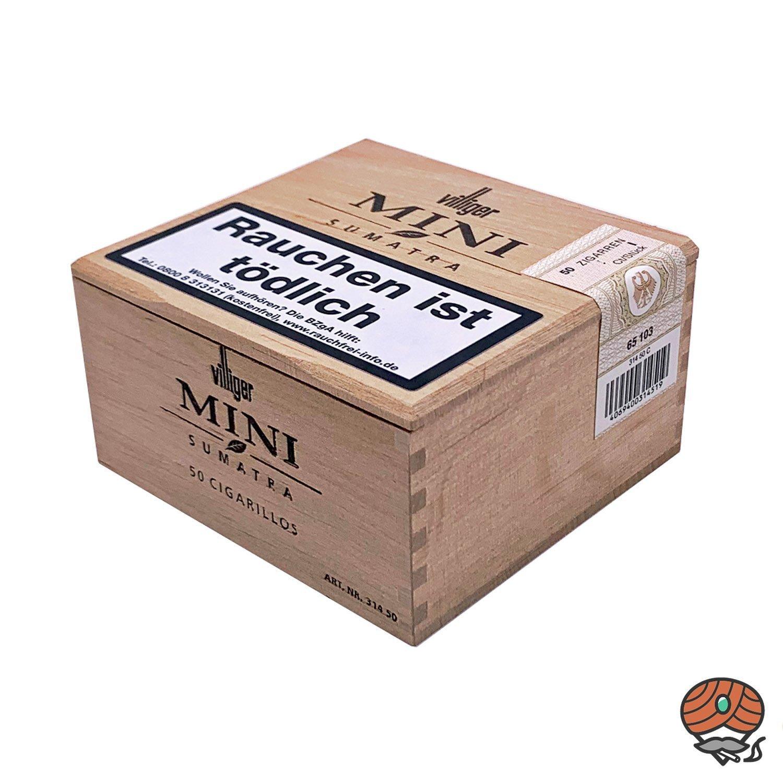 Villiger Zigarillos Mini Sumatra (50 er Kiste)