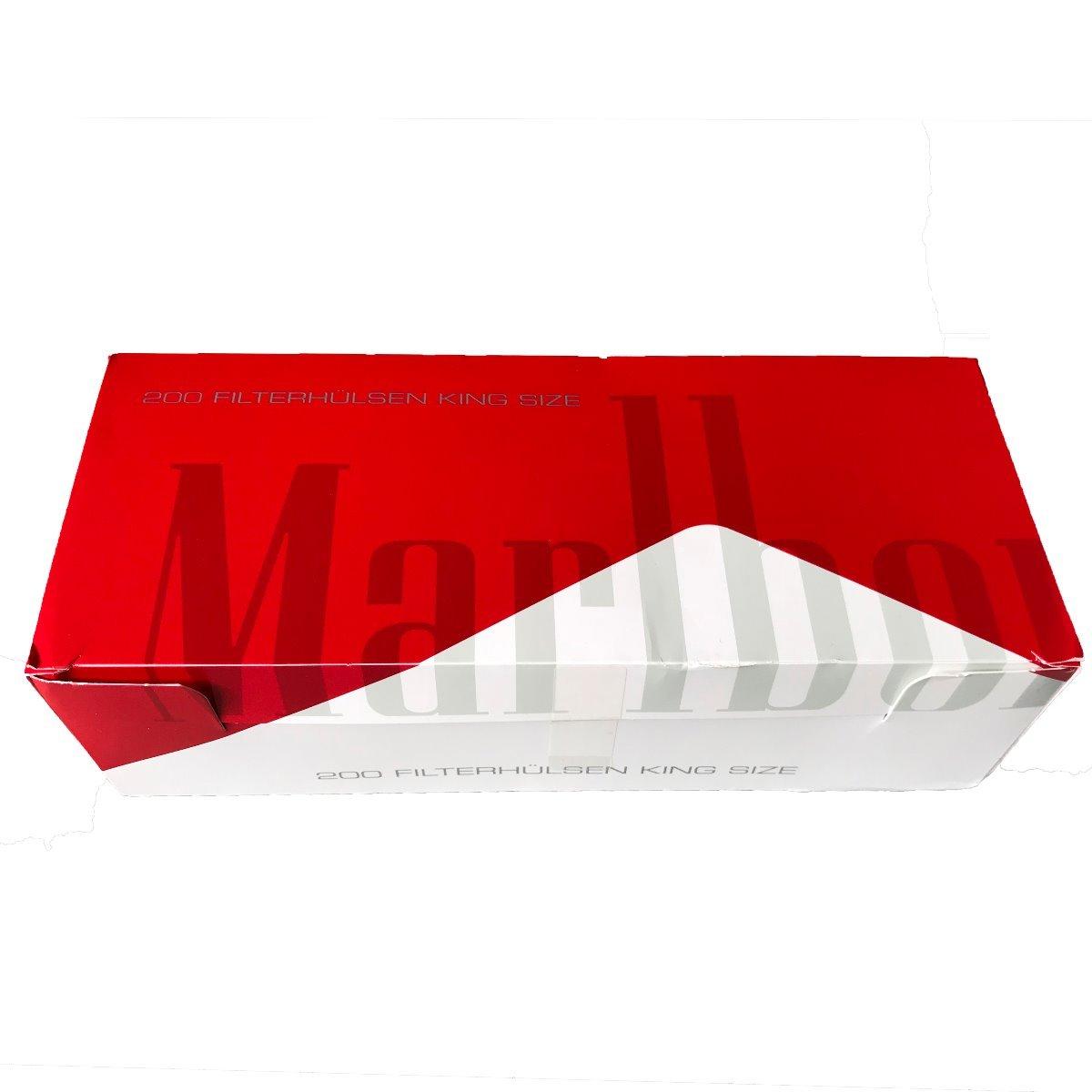 Marlboro Rot King Size Filterhülsen