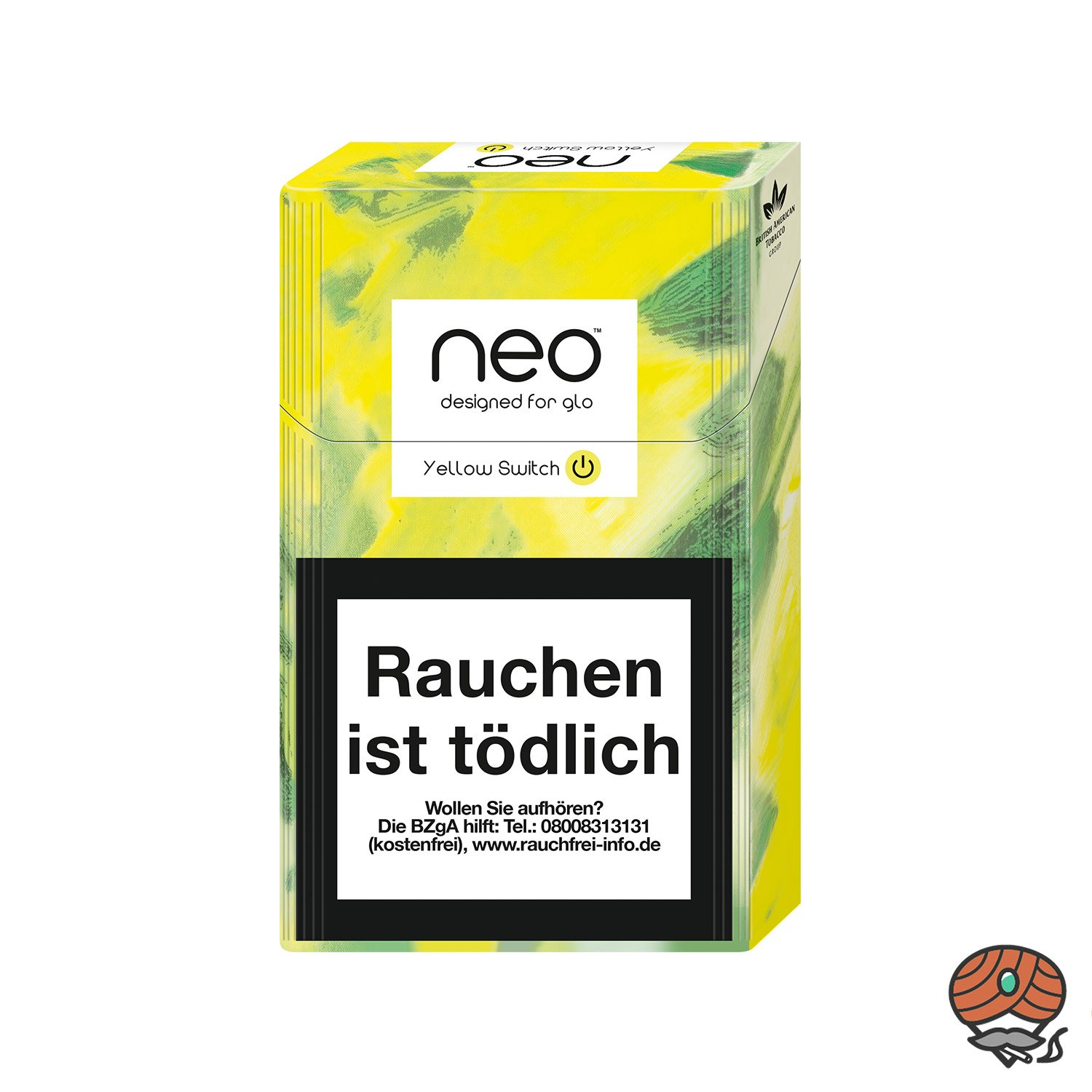 neo Yellow Switch für GLO - Tabak Sticks 20 Stück