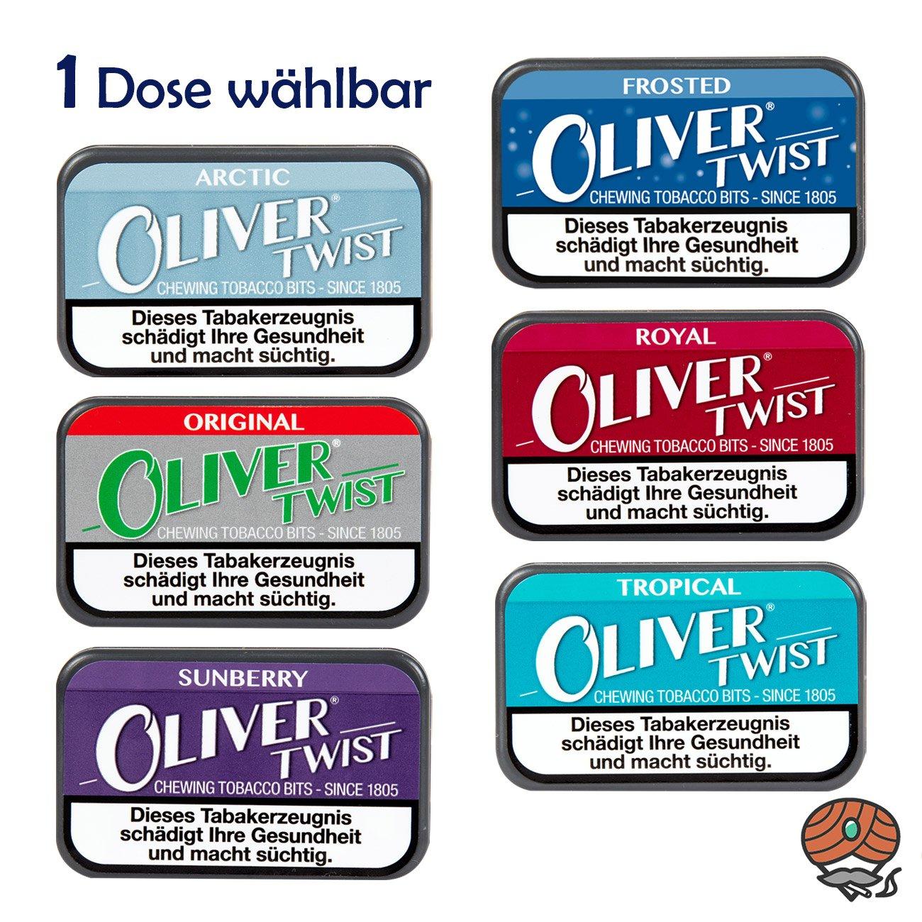 Oliver Twist Tabakpastillen, Kautabak, Chewing Bits, alle Sorten WÄHLBAR