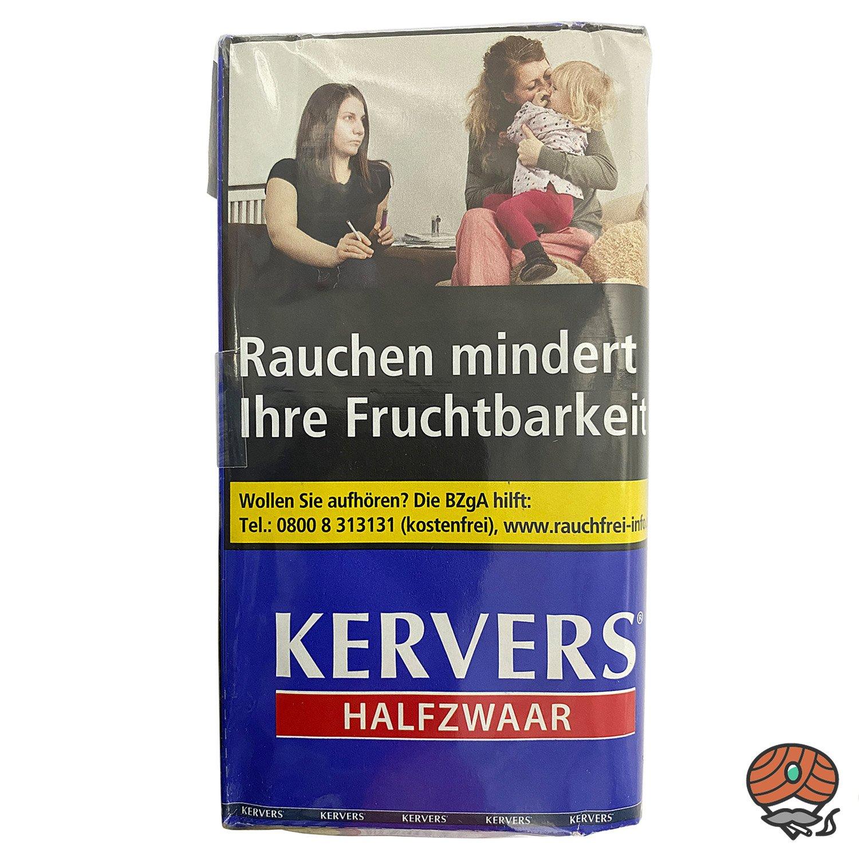 KERVERS Halfzwaar Drehtabak - Zigarettentabak - Tabak 40 g Pouch