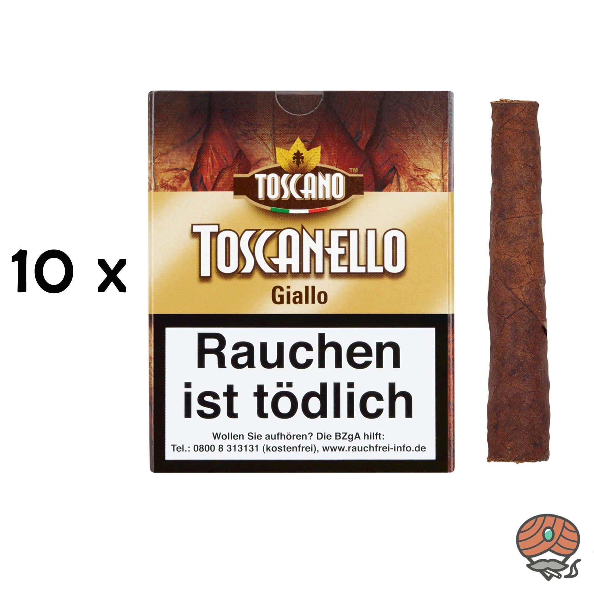 10 x Toscanello Giallo (Vanille) Zigarren