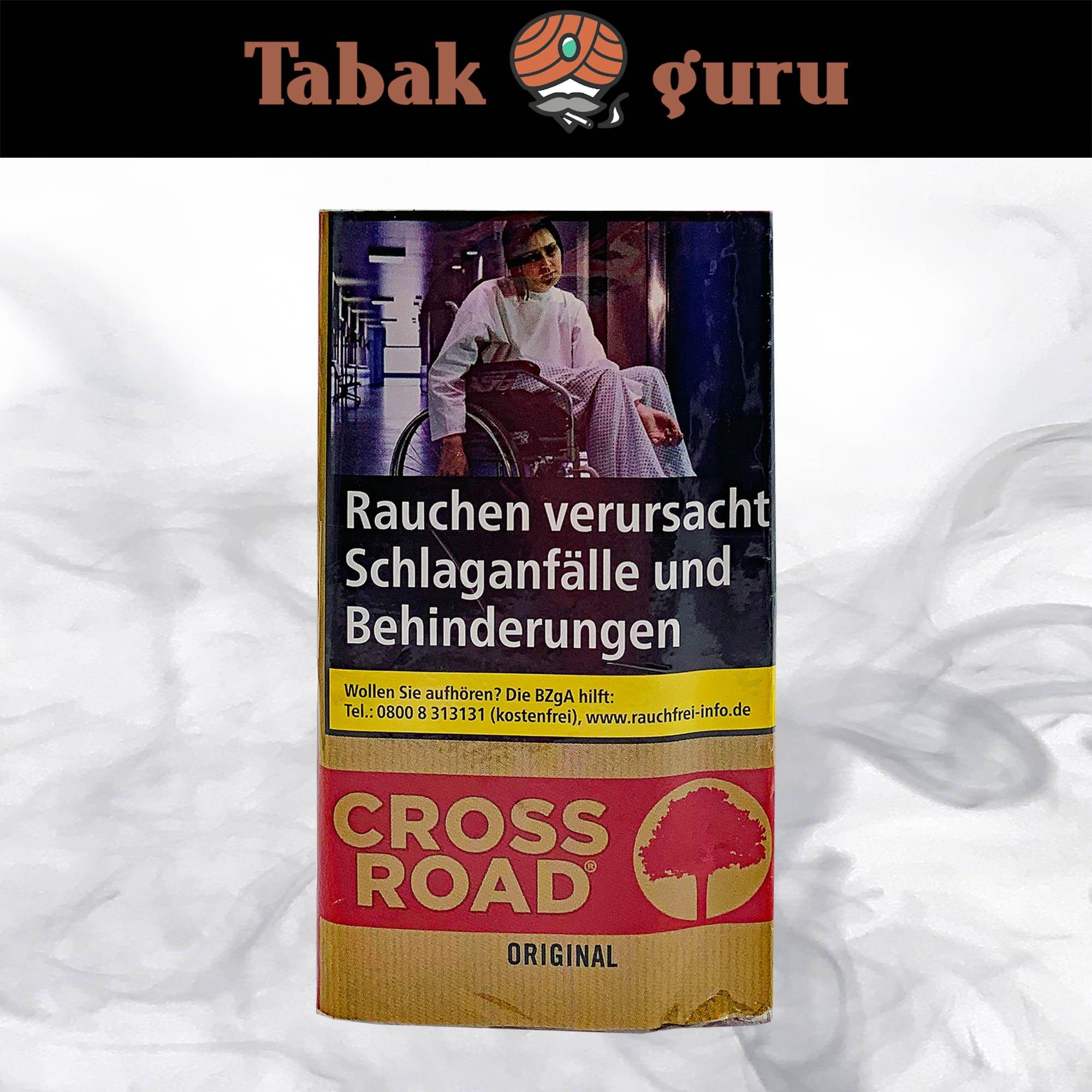 Crossroad Original / Red Drehtabak / Feinschnitt 30g Pouch