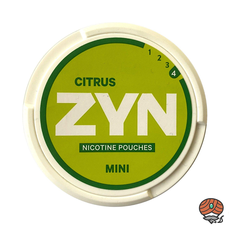 ZYN Citrus MINI Extra Strong #4 - Nikotin / Nicotine Pouches