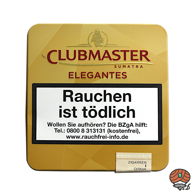 Clubmaster Elegantes Sumatra No. 341 Zigarillos, 10 Stück