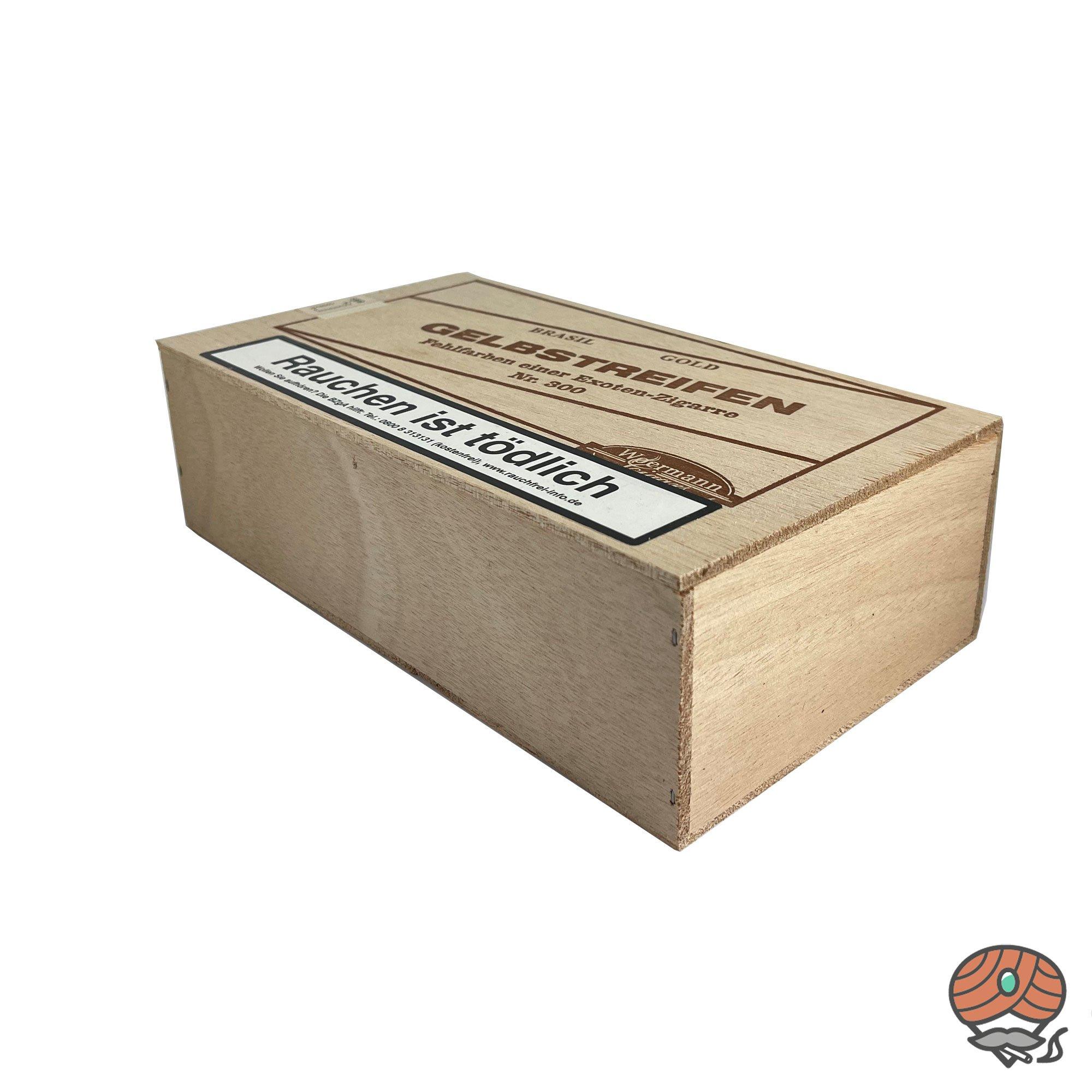 Gelbstreifen Brasil Nr. 300 Fehlfarben Zigarren 25 Stück