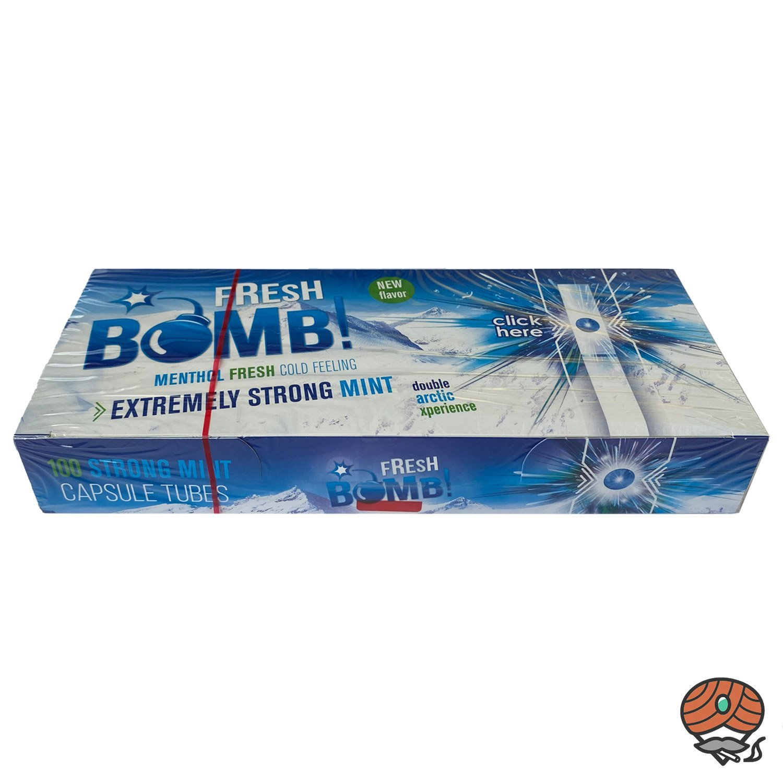 Fresh Bomb! DUO Strong Mint Double Artic Click-Zigarettenhülsen
