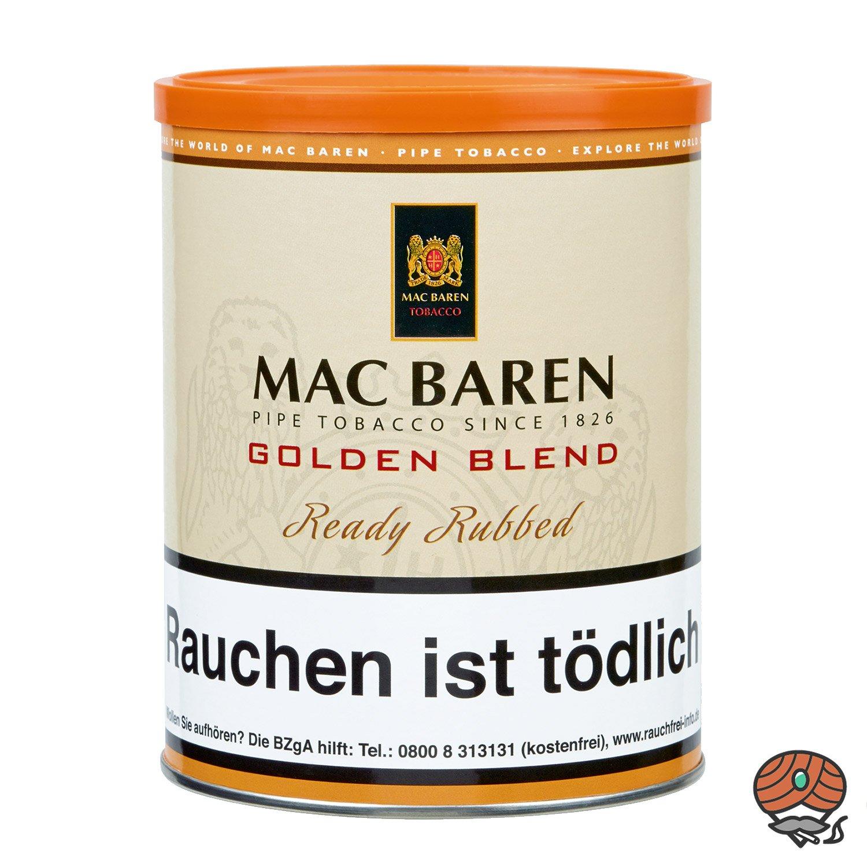 Mac Baren Golden Blend Ready Rubbed Pfeifentabak 250g