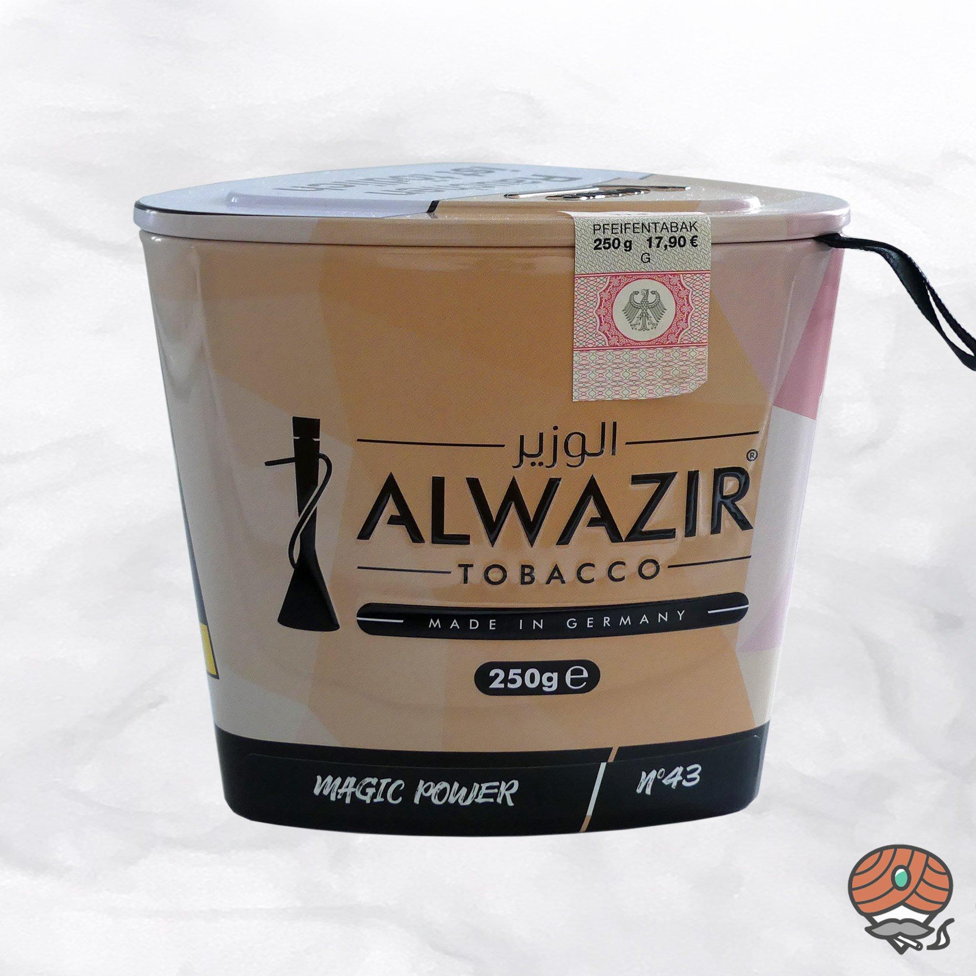 Alwazir Shisha Tabak - No. 43 - MAGIC POWER 250g
