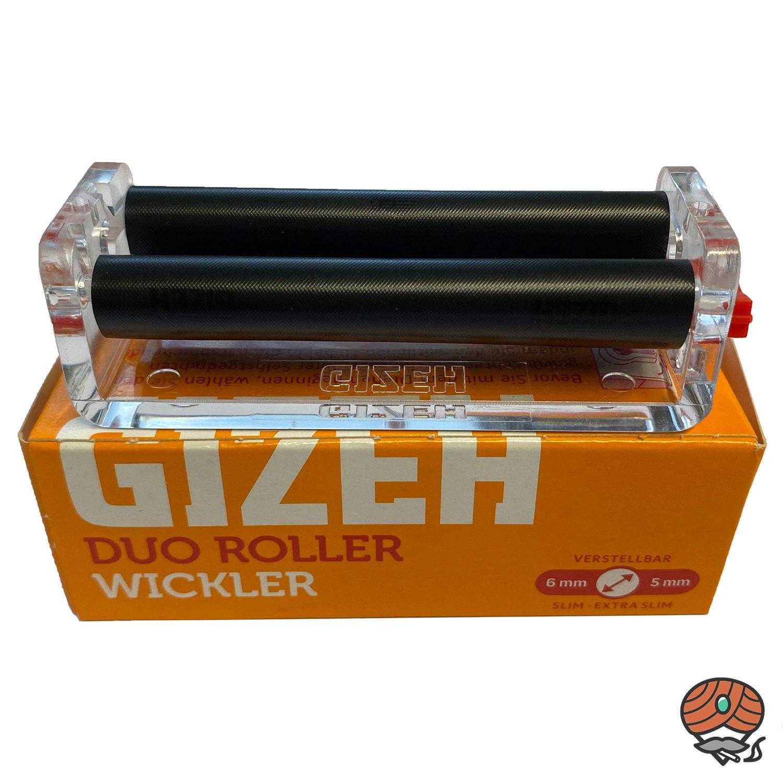 Gizeh DUO ROLLER Wickler - Drehmaschine für Zigaretten