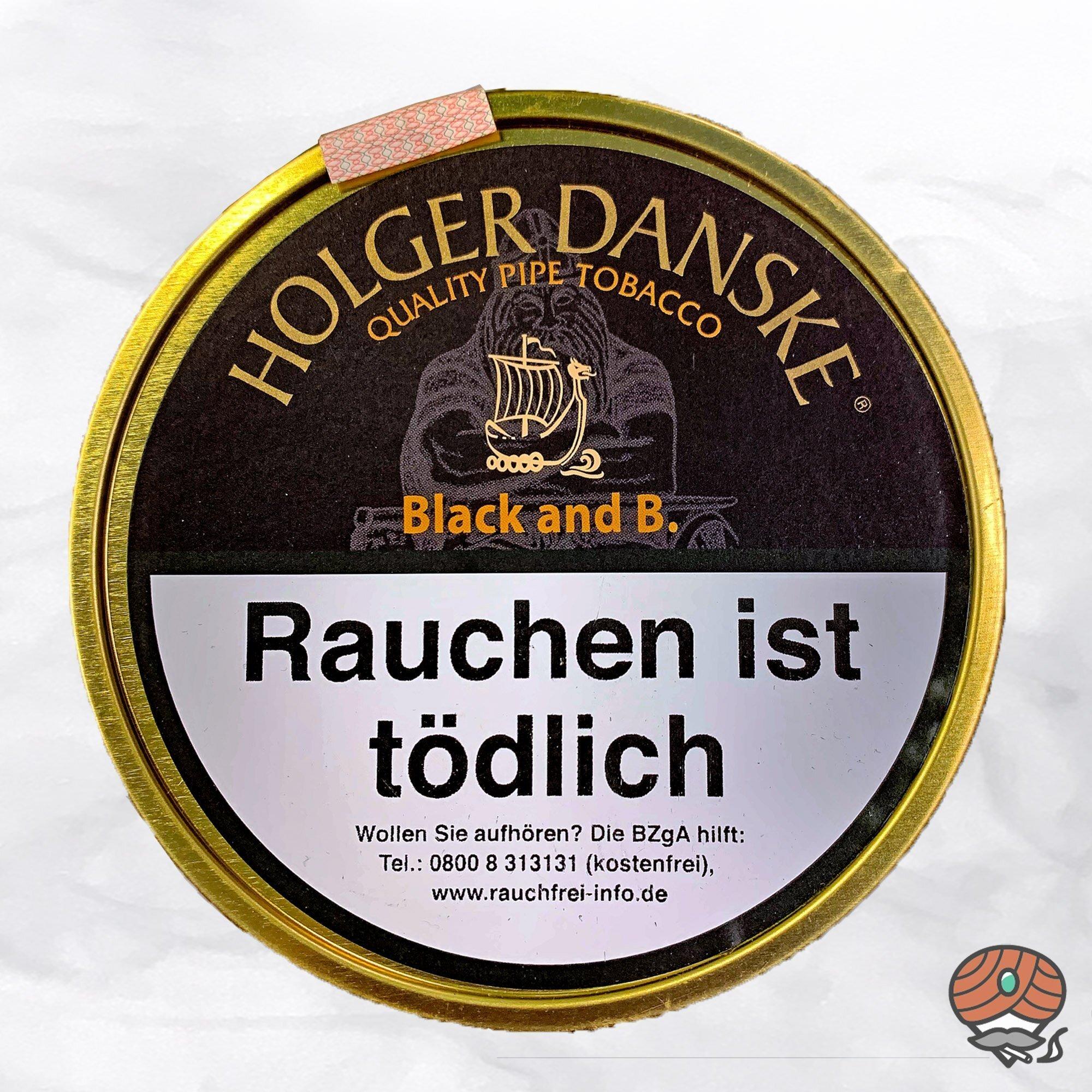 Holger Danske Black and Bourbon Pfeifentabak 100 g Dose