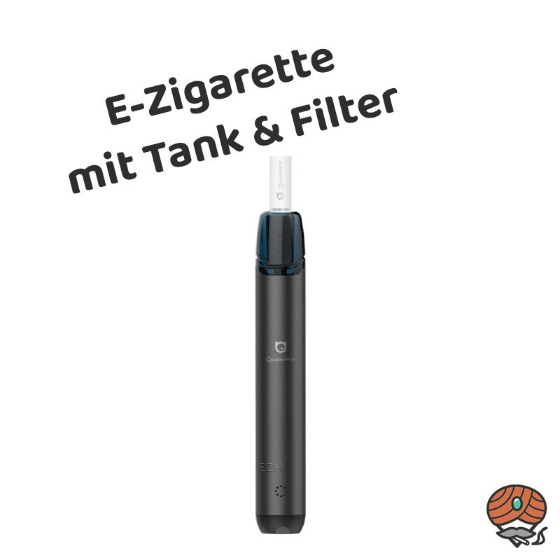 Quawins Vstick Pro Kit E-Zigarette mit Filter in Schwarz (black)