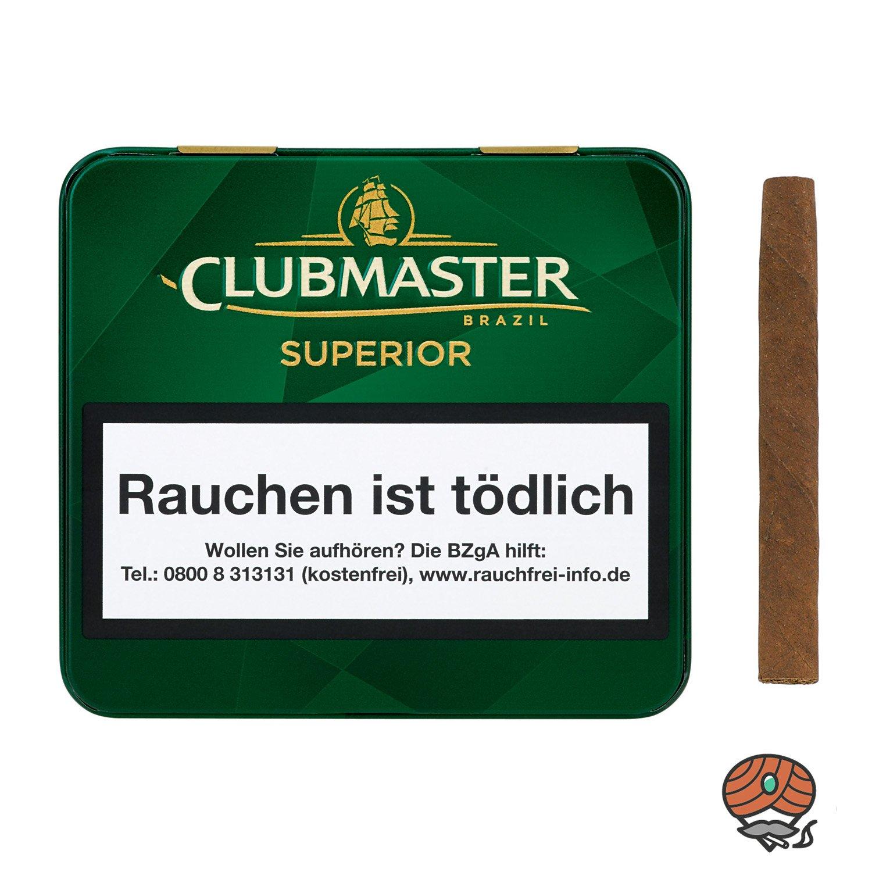 Clubmaster Superior Brazil / Brasil No. 144 Zigarillos à 20 Stück