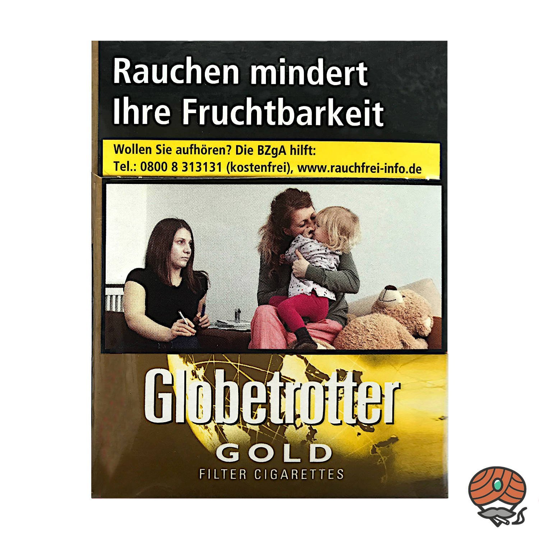 Globetrotter GOLD Zigaretten Big Pack - 24 Stück