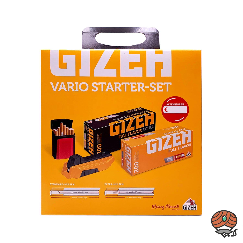 Gizeh Vario Zigarettenstopfer Starterset