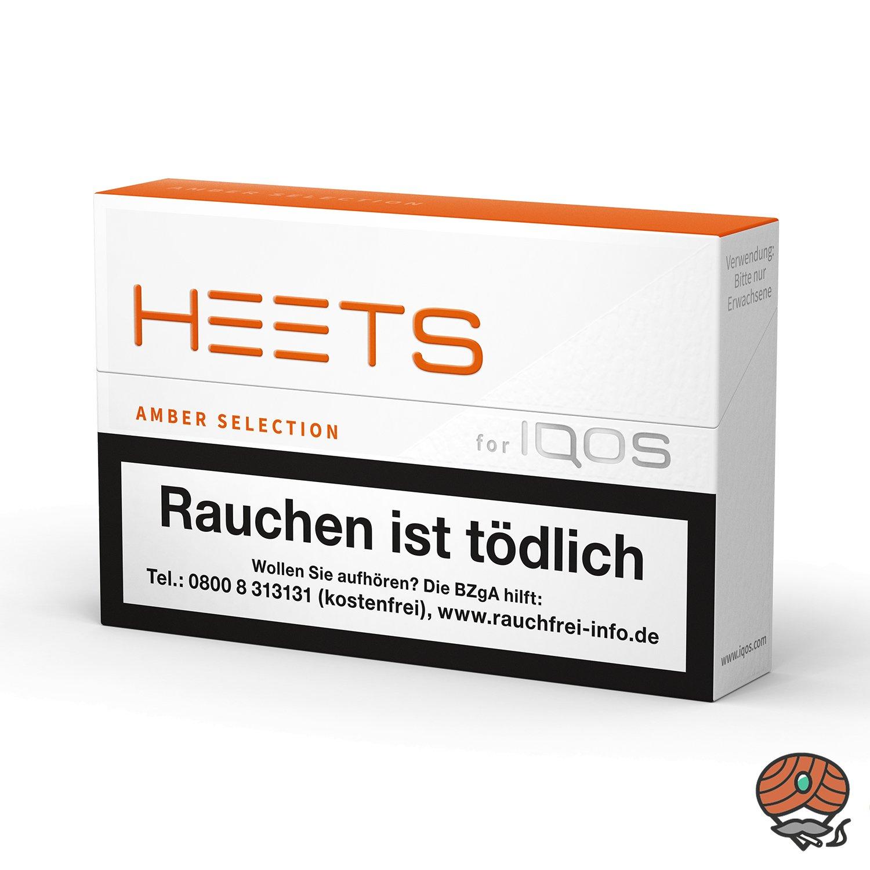 HEETS Amber Selection Tabak Sticks von Marlboro für IQOS 20 Stück