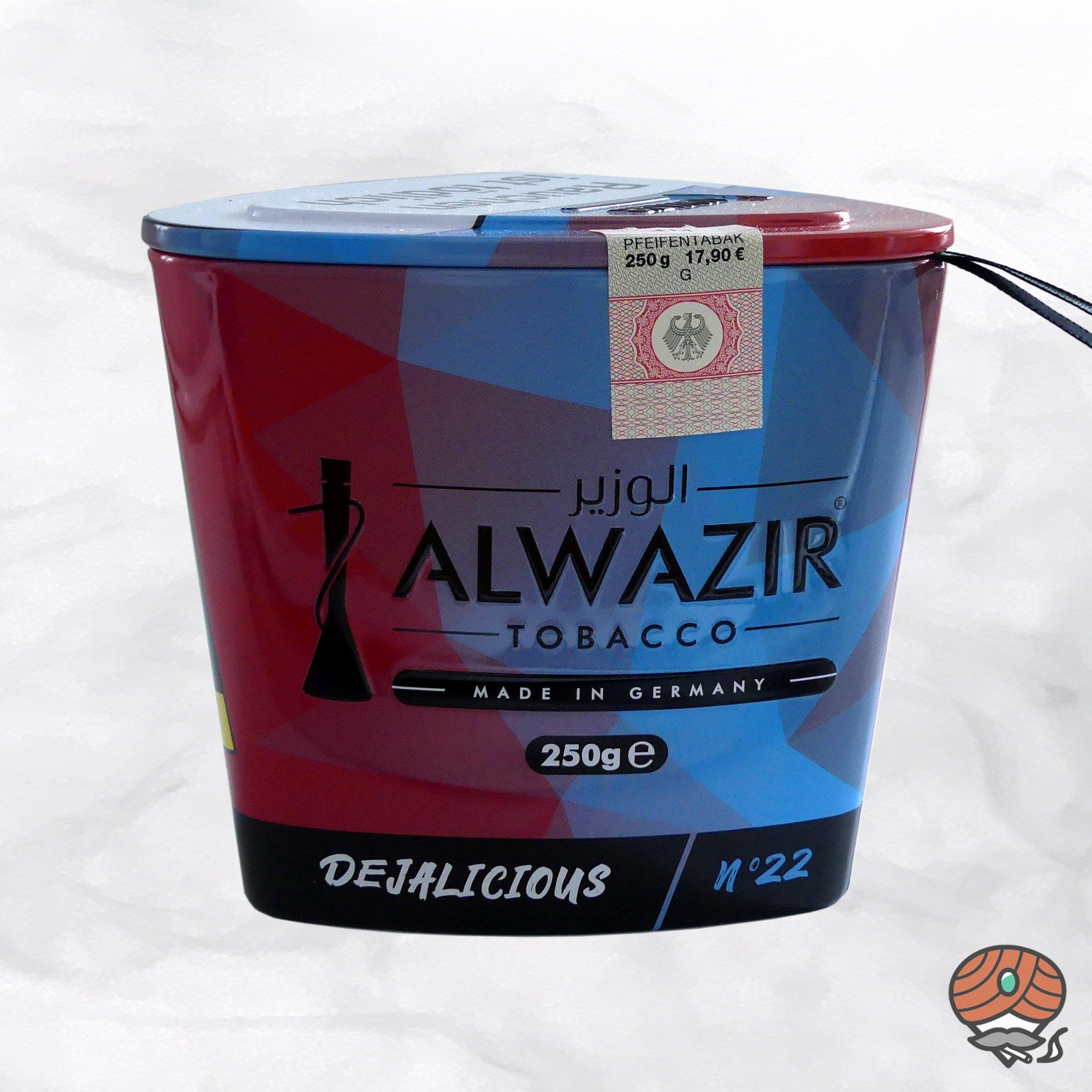 Alwazir Shisha Tabak - No. 22 - DEJALICIOUS 250g
