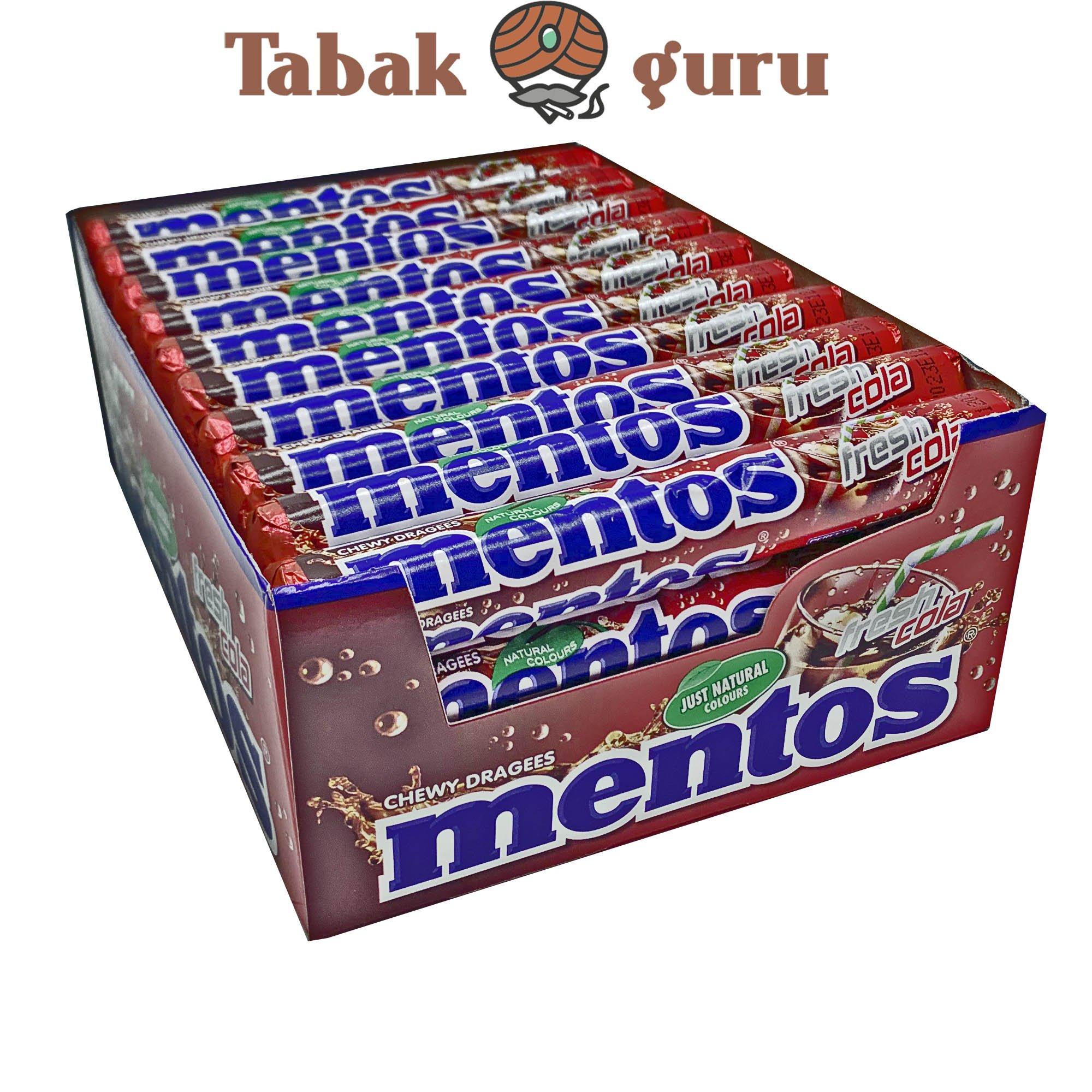40 Rollen Mentos fresh cola Kaubonbons