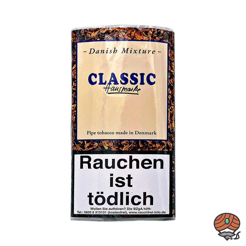 Danish Mixture Hausmarke Classic Pfeifentabak 50g Pouch