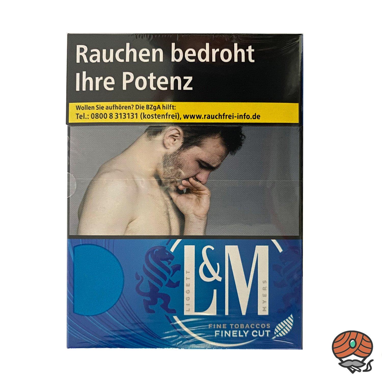 L&M Blue Label 2XL Zigaretten Inhalt 29 Stück