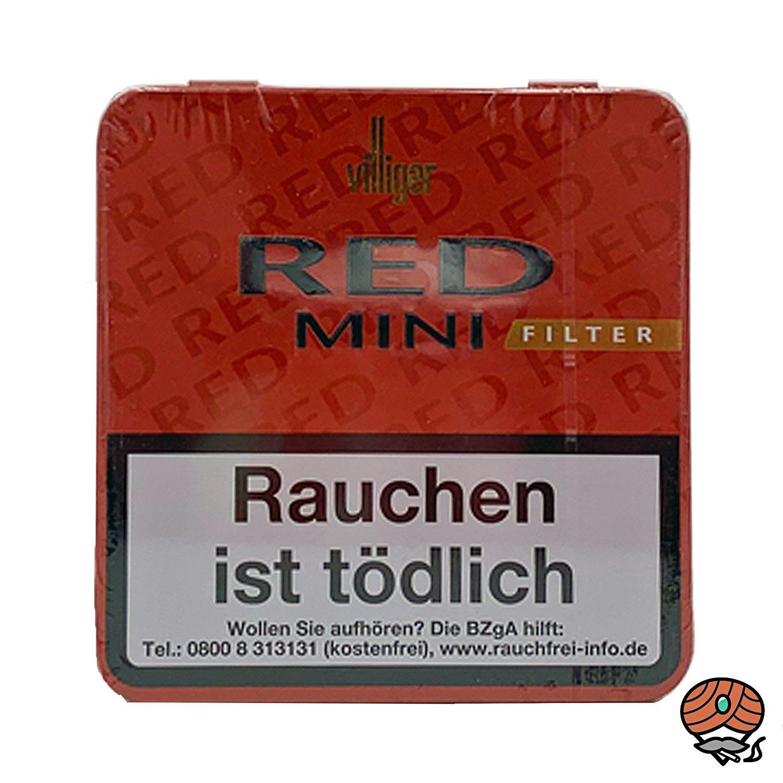 Villiger Red Mini Filterzigarillos à 20 Stück (ehemals Vanilla)