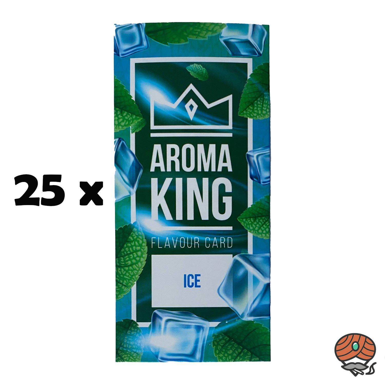 25 x Aromakarte ICE von Aroma King - Aroma für Tabak & Zigaretten