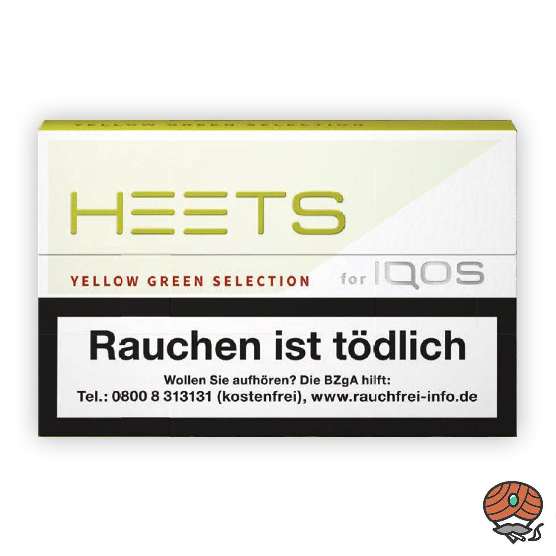 HEETS Yellow Green von Marlboro für IQOS Tabak Sticks 20 Stück