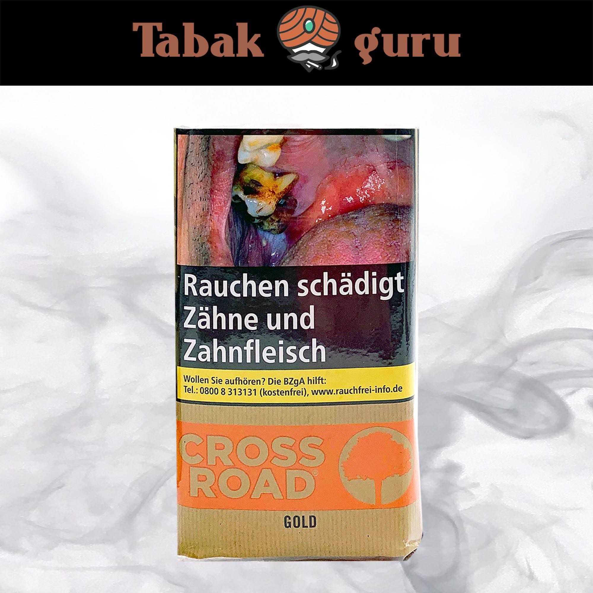 Crossroad Gold Drehtabak / Feinschnitt 30g Pouch