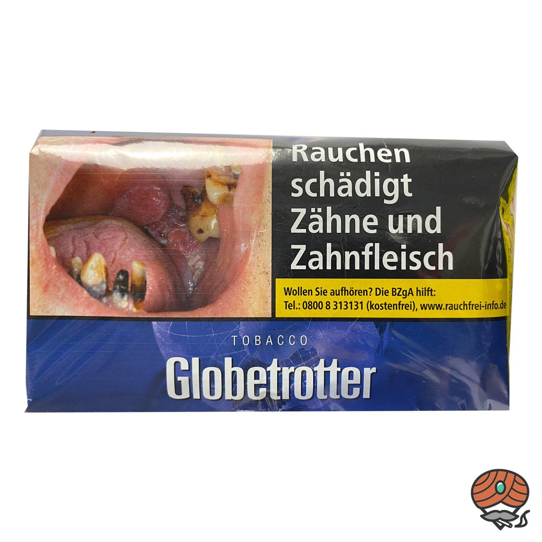 Globetrotter Tabacco Blau Halfzware 40g Pouch/ Beutel