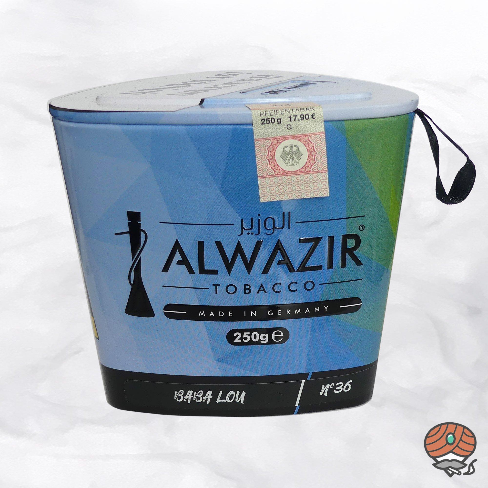 Alwazir Shisha Tabak - No. 36 - BABA LOU 250g