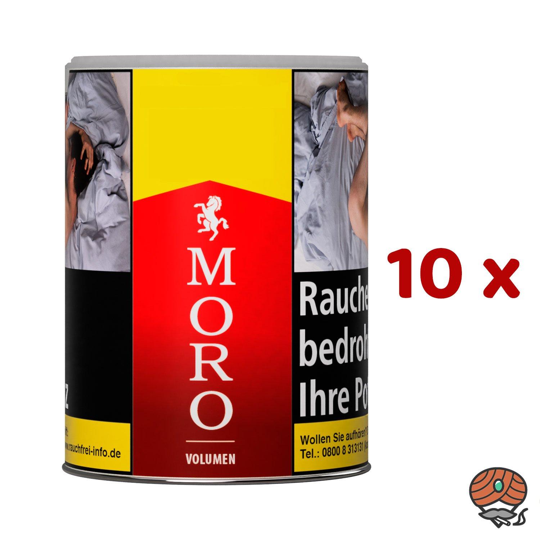 10 x Moro Rot Volumentabak Dose à 52 g
