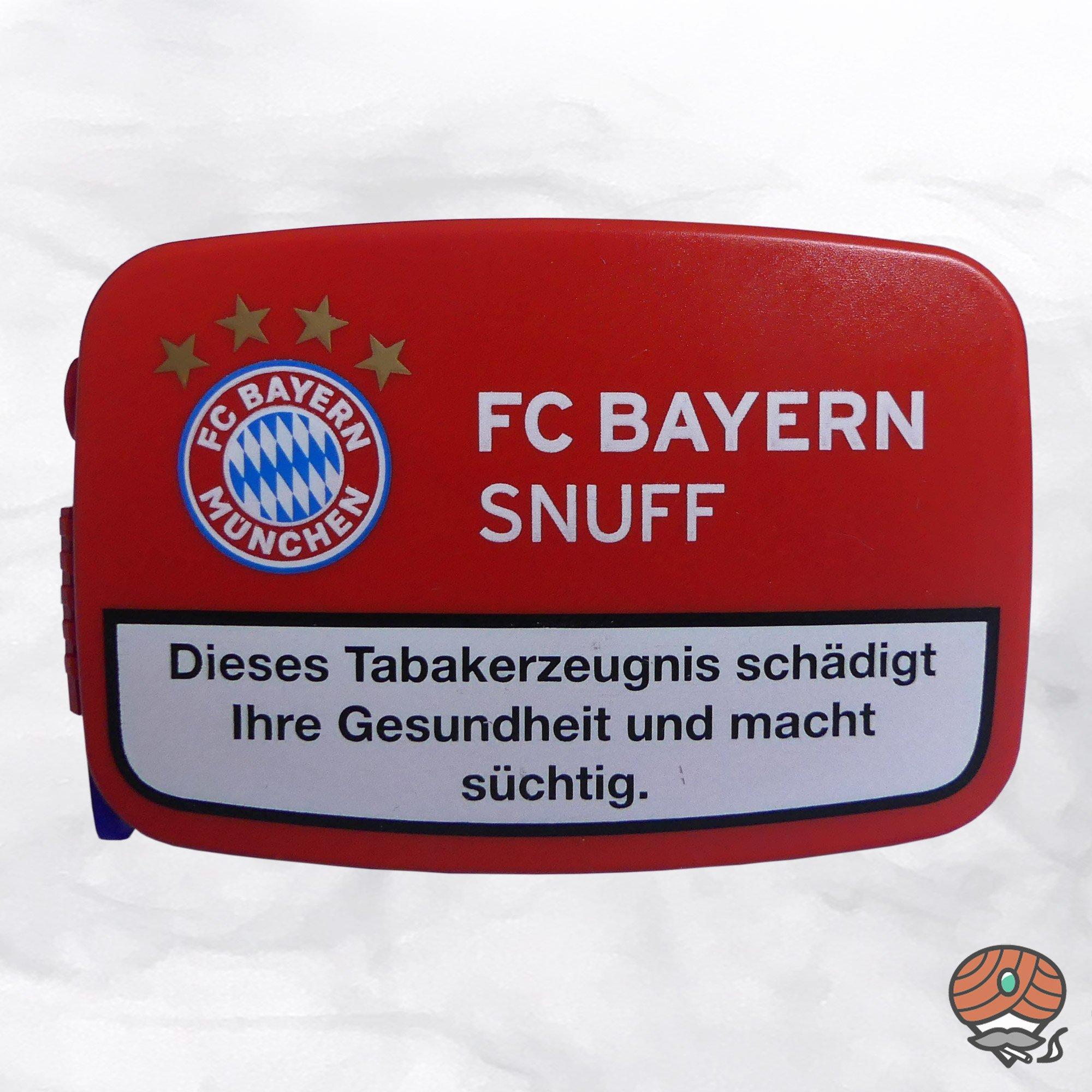 FC BAYERN Snuff Schnupftabak 10g Dose