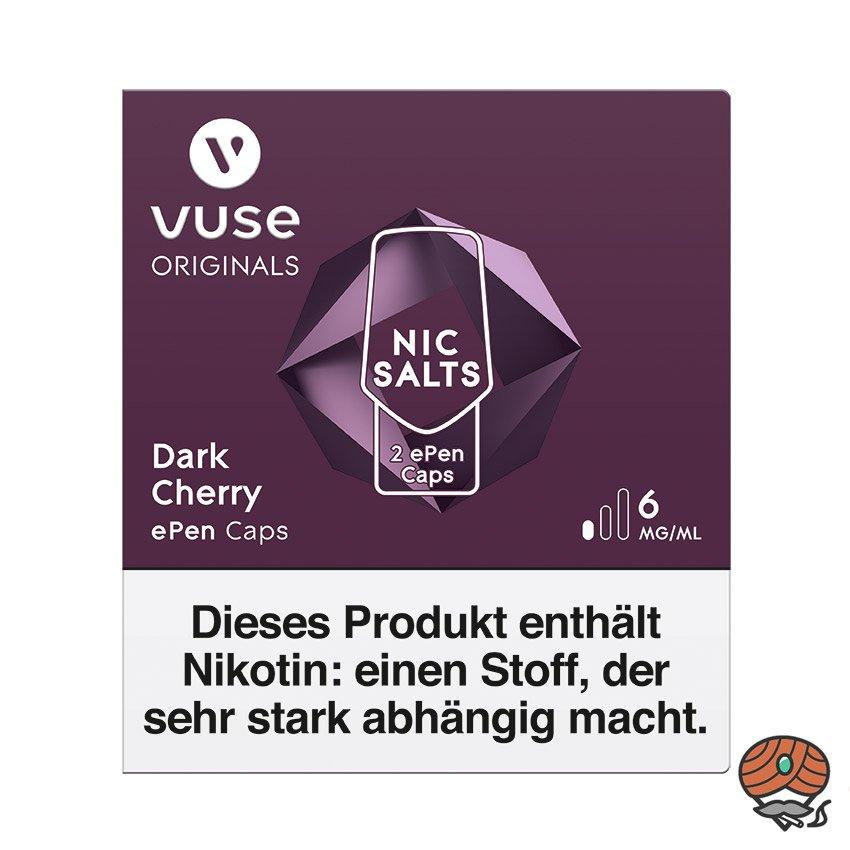 Vuse ePen Caps 1x Dark Cherry 6 mg/ml à 2 Caps (ehem. Vype ePen3)