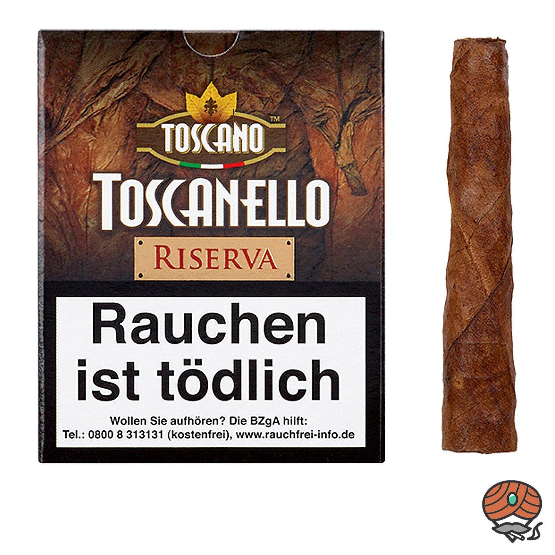 Toscano Toscanello Riserva IL SIGARO ITALIANO DAL 1818, 5 Zigarren