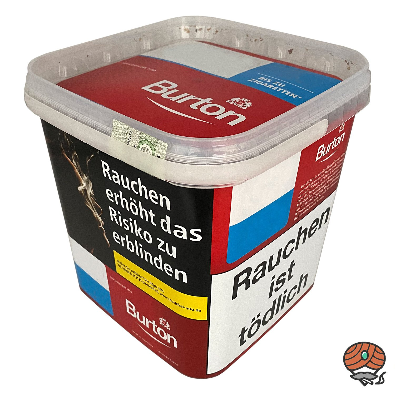 Burton Red Volumentabak / Zigarettentabak XXXL Mega Box 370g