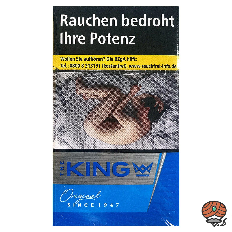 The KING Original Blue Zigaretten 20 Stück