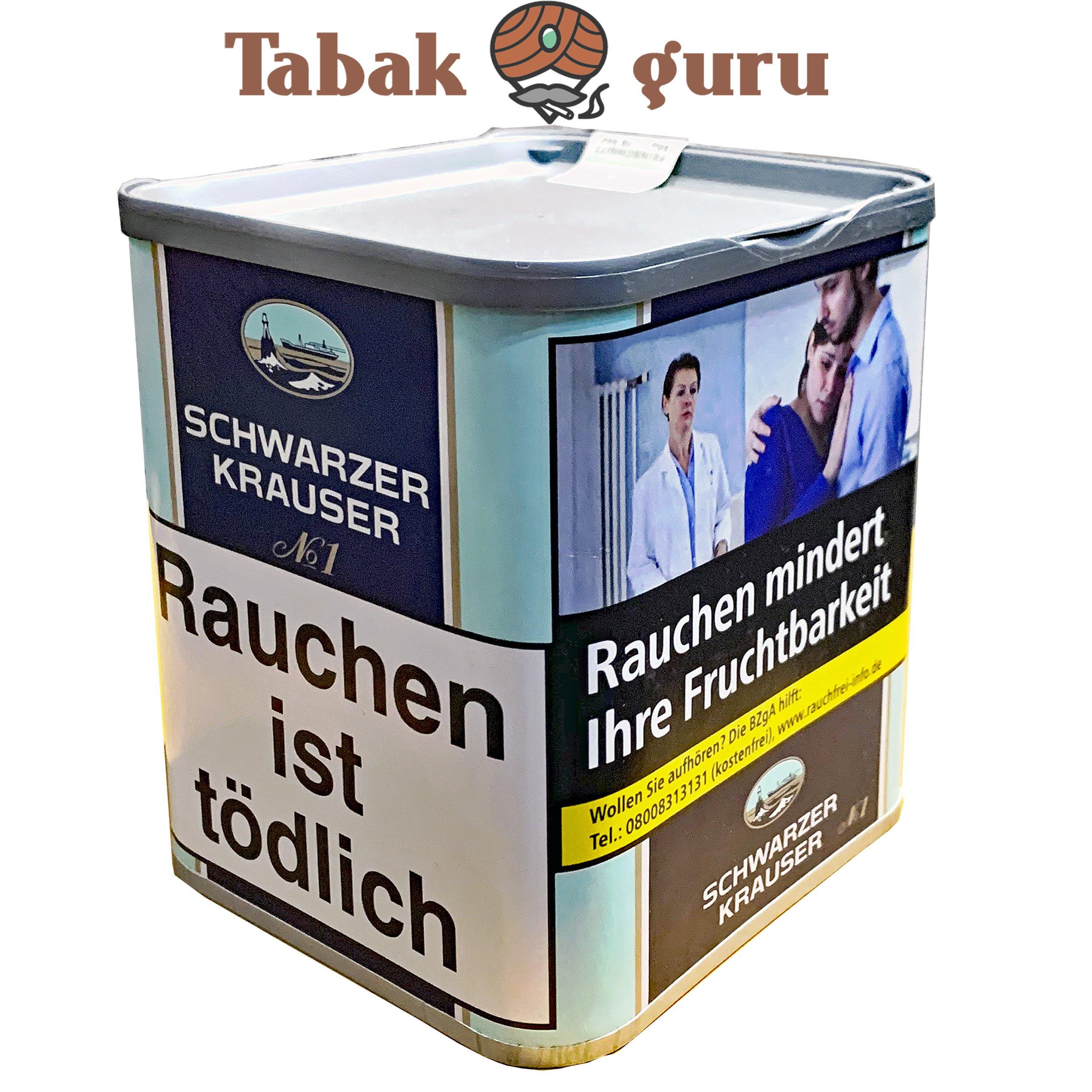 Schwarzer Krauser No1 Feinschnitttabak