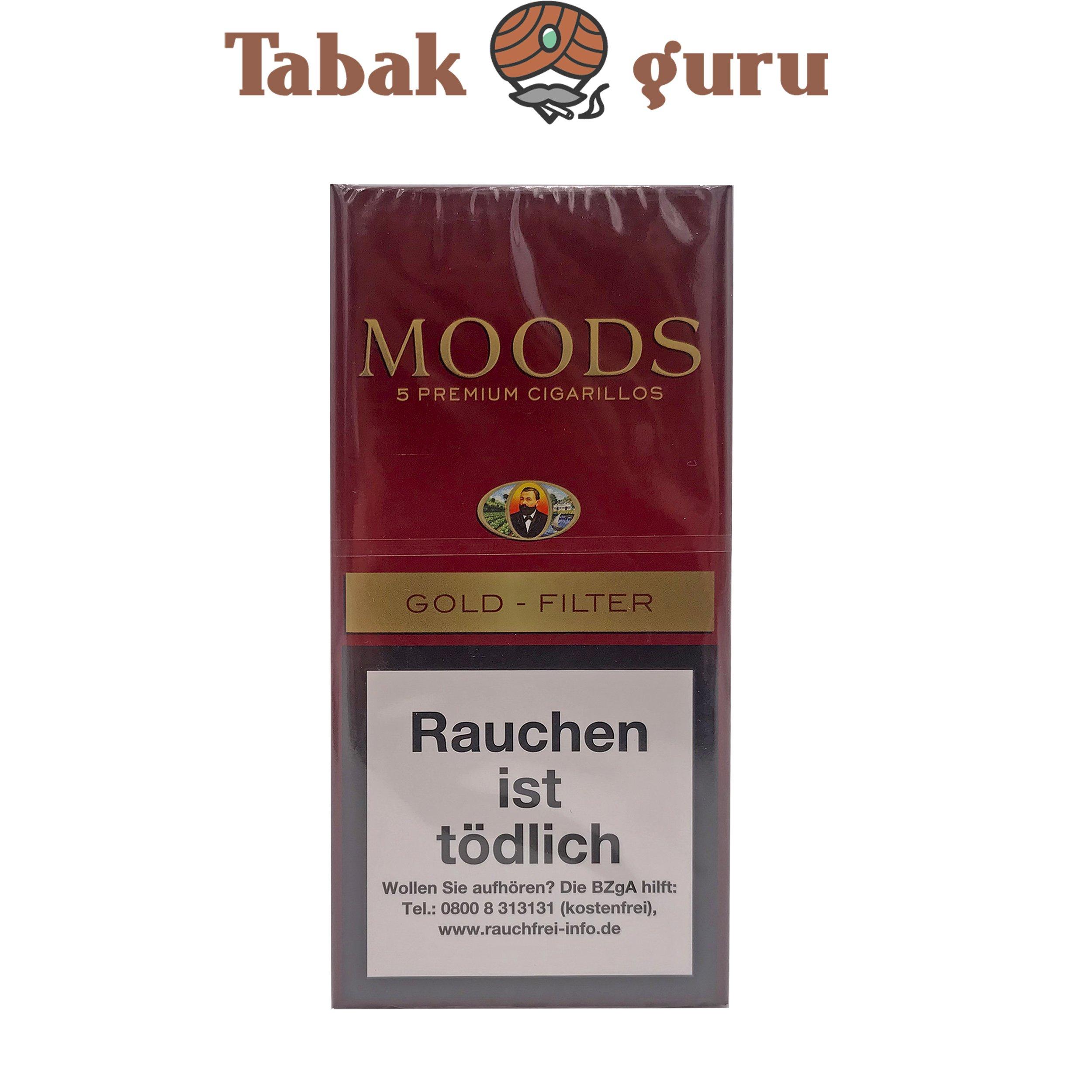 Moods Gold Filterzigarillos a 5 Stück