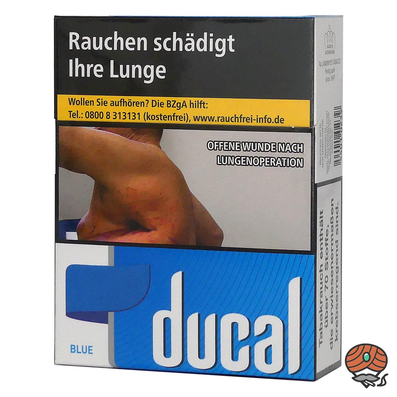 Ducal Blue / Blau Zigaretten XL Schachtel 22 Stück