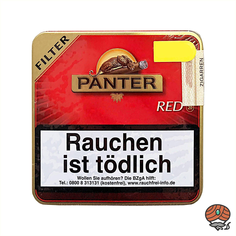 Panter Red / Vanilla Filter Zigarillos 20 Stück